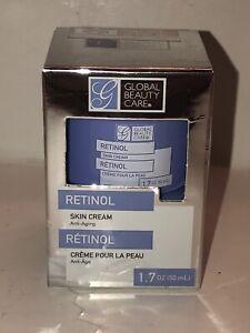 GLOBAL BEAUTY CARE RETINOL SKIN ANTI-AGING CREAM 1.7 OZ / 50 ML