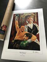 """The Victory""  Tyson fury Art Print By Killian"