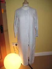 Linen Patternless Long Sleeve Shirt Dresses
