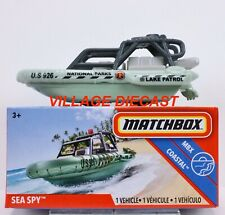 2020 Matchbox Power Grabs #84 Sea Spy™ GENTLE GREEN / NATIONAL PARKS LAKE / MIB