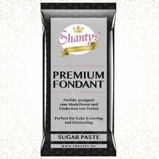 Shantys Premium Fondant / Rollfondant  - SCHWARZ - 1 Kg