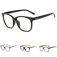 Retro Men's Women Clear Glasses Vintage Frame Espectacles Myopia Eyewear