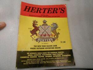 Vintage 1979 Herter's Fishing Outdoor Catalog No.89
