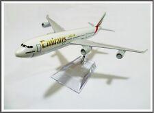 16cm Emirates A340 Airplane Metal Model Plane Diecast Desktop Aeroplane Airline