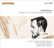 Nachklang: Lieder von Justus Hermann Wetzel ( CD, FEB-2012, GENUIN)