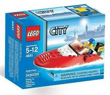 Lego City Town 4641 Speed Boat Nisb