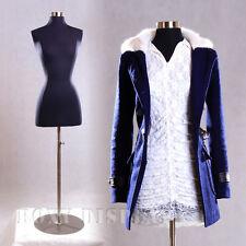 Female Size 2-4 Mannequin Manequin Manikin Dress Form #F2/4Bk + Bs-04