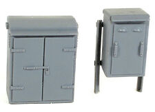 Wills SS88 - Lineside Relay Boxes 'Set 2' 00 Gauge=1/76th Scale Plastic Kit -1st