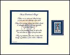 ST075 - NURSE PRACTITIONER, NURSE PRACTITIONER'S PRAYER...w/1961 STAMP