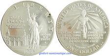 USA  ,  DOLLAR  ARGENT  STATUE  DE  LA  LIBERTE  1986  S  ,  PROOF