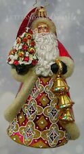 Christopher Radko *NEW* 2019 Jingle For All to Hear Santa Christmas Ornament