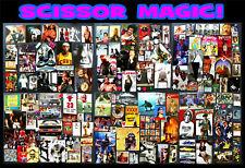 Mr. Glenn's Scissor Magic! Art Ephemera Lot #6: 100+ Hero & Icon Clips & More.