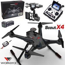 Walkera Carbon Scout X4 FPV GPS Quadcopter Drone DEVOF12E Transmitter, 3D Gimbal