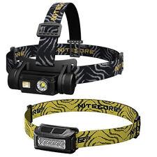NITECORE HC65 1000 Lumen CRI LED Micro-USB Rechargeable Headlamp w/NU10 Headlamp