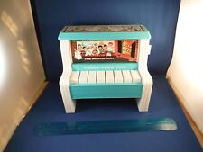 Vintage Fisher Price Playing Three Tunes Piano Music Box