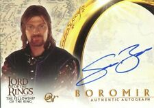 Lord Of The Rings Fellowship Of The Ring Autograph Sean Bean