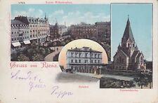 AK 1902 gelaufen, Gruss aus Riesa, Landkreis Meissen, Sachsen