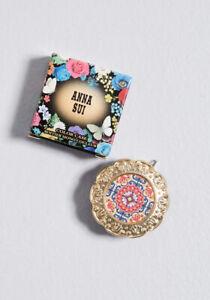 ANNA SUI SINGLE COLOR PALETTE CASE with EYE & FACE COLOR V500 Set JAPAN
