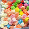 Mini Foam Rose Artificial Flower Head Wedding Bridal Bouquet DIY Party Decor 3cm