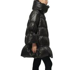 Damenmode Daunenjacke Oversize Mittellang Mantel Standkragen Winddichte Winter L