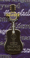 Hard Rock Cafe Chicago Hotel Orlando Grajales Guitar Pin