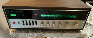 Harman Kardon 330a Am/Fm stereo receiver in wood cabinet, GORGEOUS MINT  TESTED
