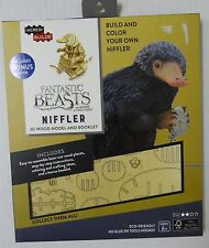 IncrediBuilds: Fantastic Beasts and Where to Find Them 3D Wood Model & Booklet