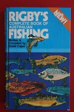RIGBY'S COMPLETE BOOK OF AUSTRALIAN FISHING by David Capeld (Hardcover, 1984)