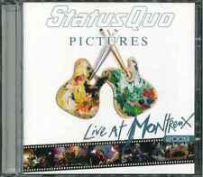 """STATUS QUO """"Pictures - Live At Montreux 2009"""" CD-Album"""