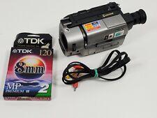 New ListingSony Handycam Camcorder Ccd-Trv65 8mm Hi8 Video Camera Vcr Player NightShot