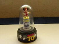 "Disney Happy 70th Mickey Mouse Minature Thimble 2.5""tall"
