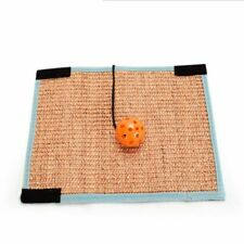 New listing Cat Scratching Board Mat Pad Sofa Sisal Pad Protector Scratcher with Bell