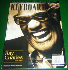 2004 Ray Charles Tribute, Madonna Tour, Casio PX-300 Review, Keyboard Magazine