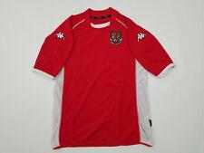Kappa Wales Soccer Jersey Men's Large L Welsh Fall Winter 2002 2003 Romania Made