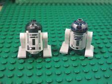 LEGO Star Wars lot of 2 R2-D2 R4-P44 Astromech Droid  Minifigures  r2d2 r4p44