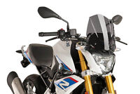 PUIG NAKED N.G. SPORT SCREEN BMW G310 R 16-17 DARK SMOKE