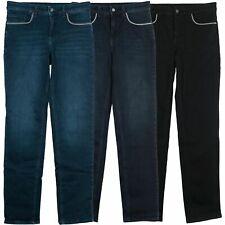 MAC Stella Glam Chain Stretchjeans Jeans Damen Denim Straight Feminine Fit