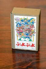 Puyo Puyo 10-figure Set Model-kit estatua resin personaje rare japón 1994