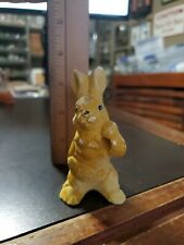 Vintage 1930s Chalkware Candy Shop Lollypop Easter Bunny Holder