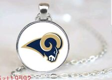 """FOOTBALL NECKLACE - MEN""""S, WOMEN""""S OR KIDS W/ ROUND CHARM"""