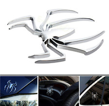 Spiderman Metal Sticker Car Emblem Decor Styling 3D Silver Chrome Universal New