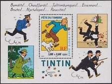 2000 FRANCE BLOC  N°28** TINTIN  BANDES DESSINEES  NEUF LUXE STAMP SHEET MNH