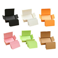 Multifunction Portable Paper Index Flash Cards Party Birthday 6 Colors