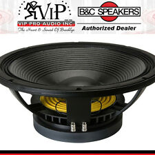 "B&C 15TBX100-4 15"" Hi-Performance Subwoofer 2000 Watts 4-Ohm Bass Woofer Speaker"