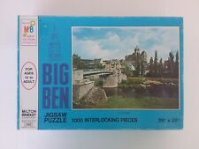 "Vintage 1973 Big Ben 1000 Piece Jigsaw Puzzle ""Lahn, Germany"" NEW"