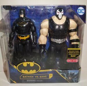 """Batman vs Bane DC Comics 2021 12"""" Action Figures 1st Edition Target Exclusive"""