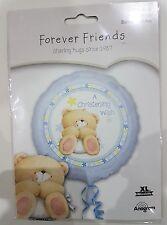 "Forever Friends ""A Christening Wish"" Boy 18"" 45cm Foil Balloon"