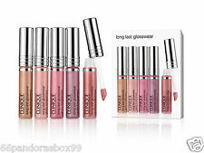 Clinique Long Last Glosswear Lip Gloss Set Boxed & Sealed ♡ 5 Assorted Shades ♡