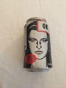 vintage OK 12 oz soda pop can (Coca-Cola Co) Girl Face