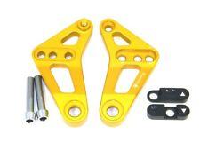 Ducabike Ducati Panigale CNC Rear Suspension Bracket Adjuster GOLD